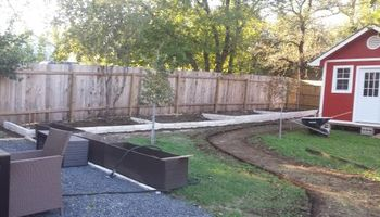Bahenas Landscaping - Flower beds, stone retaining walls, Mulch