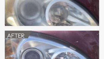 Have foggy/yellow headlights? Let us restore them.