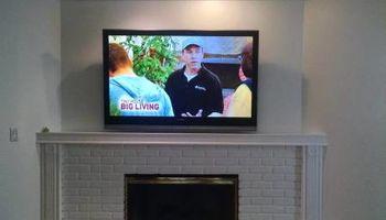 TV wall mount service. LA's Expert