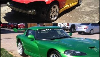Auto paint and body repair (+no deductible options)