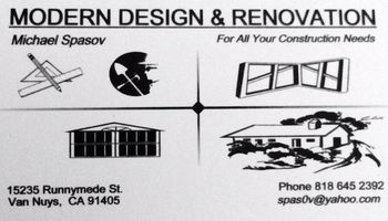 MODERN DESIGN & RENOVATION CONTRACTOR