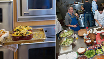 Jordan's Kitchen cooking classes - delicious, educational and fun!