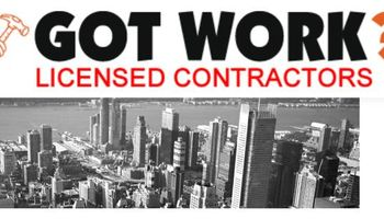 GOT WORK? - Licensed Contractors