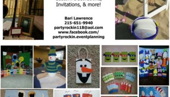 Party Rockin' Event Planning - birthdays, weddings, special events!