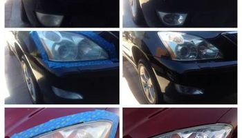 Headlight restoration - $85- $145