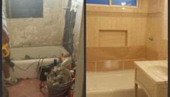 Jeff's Bathroom Remodeling