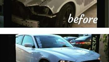 Complete auto body repair shop, we provide free rental car!