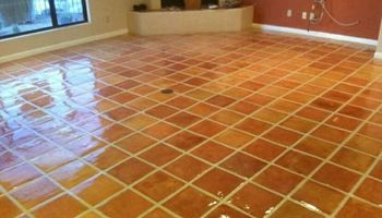 TILE INSTALLATION, CLEAN AND RESEALS TILE AND GROUT