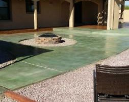 EPOXY COATINGS AND ACID CONCRETE STAIN