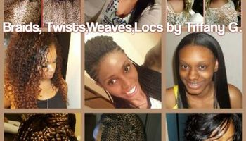 Thursdays $15 off Box Braids