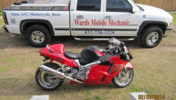 Ward's Mobile motorcycle Repair
