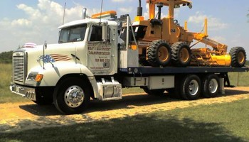 AFH Trucking. Heavy Equipment Transportation