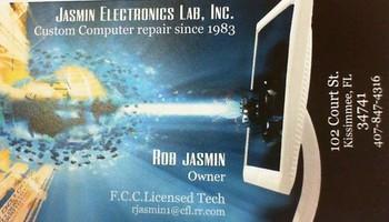 JASMIN VINTAGE ELECTRONICS & COMPUTER REPAIR SINCE 1983