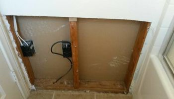 Sheetrock/Drywall Repair. Clean & Curtious