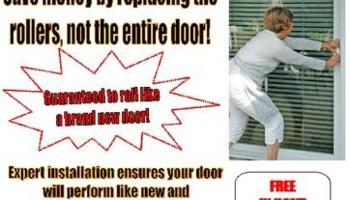 SLIDING DOOR REPAIR - SAVE!