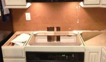APPLIANCE, DISHWASHER, MICROWAVE INSTALLATION
