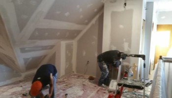 Sheetrock installation and repair