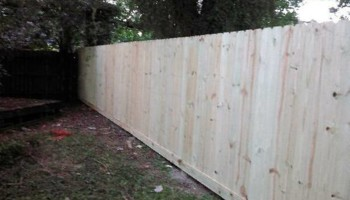 Privacy fences and more! Affordable prices, friendly faces