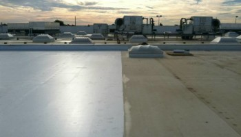 Roof leak repairs, and waterproofing on all metal and flat roof