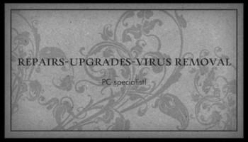 Computer repair, clean virus, upgrade services
