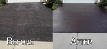 Satisfaction Guaranteed!!! Robert & Son Driveway Repair, Seal coating, Striping...
