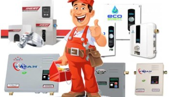 Service, Repair & Installation of Electric Tankless Water Heater