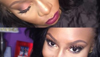 New Year Glam Makeup Blowout!