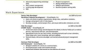Resume Writing service starting at $35