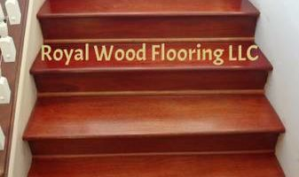 Engineered Hardwood Flooring Installation - Laminate, Bamboo on Stairs