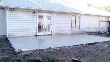 Concrete jobs by Ryan Blair, call now! + demolition!