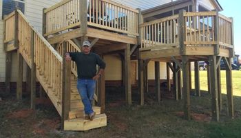 DECKS, SCREENED PORCHES. UNBEATABLE PRICES! Ben's Home Improvements