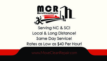 Movers available 7 days a week! We have weekend availabilty! Book Now!