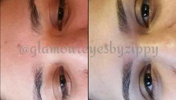 Brows and Lashes. Glamour eyes by Zippy