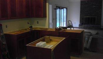 Tuckers Customs LLC. Experienced Cabinet Installer