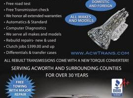 Honda and Acura Transmission Rebuild Specialist