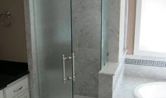 Frameless Glass Showers Are Our Specialty.....