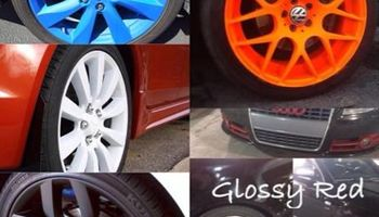 Plasti dip your rims any color you want