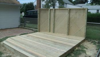 PORCH and DECK building and repairs 12x12 deck $2000 w/permit