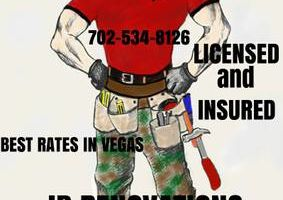 HANDYMAN WITH OVER 15 YEARS. FREE ESTIMATES!