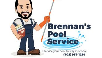 Brennan's Pool Service. That is in a Class By Itself!