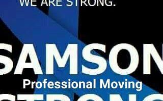 SAMSON STRONG. Affordable Professional Moving - NO HOURLY RATES!
