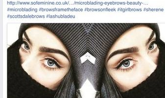 MICROBLADING 3D permanent eyebrows