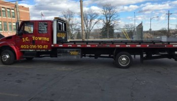 Tow Truck Service starting at $40. JC TOWING
