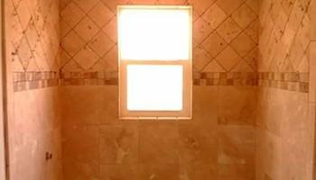 Ceramic tile and bathroom remodeling