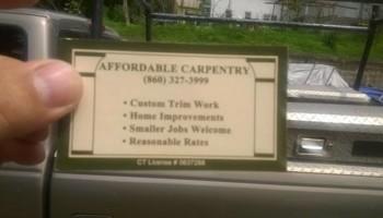 Skilled Remodeling Carpenter $25/hour
