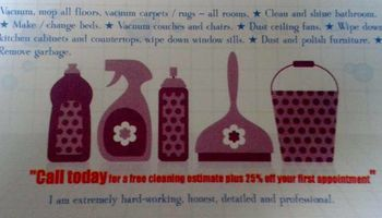 20%OFF HOUSE CLEANING SERVICES!!!