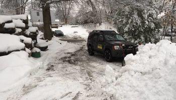 Plowing. Bridgeport & New Haven
