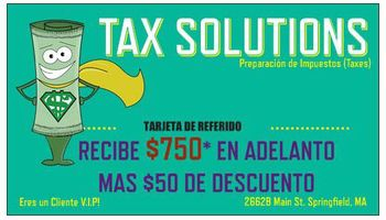 Tax Solutions. Come now!