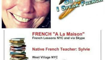 REAL FRENCH LESSONS FRENCH TEACHER. West Village/Chelsea NYC