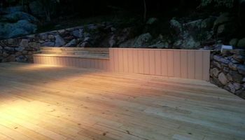 Decks constructed at affordable rates!